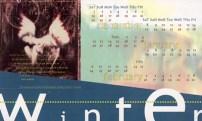 Quarterly calendar (winter)