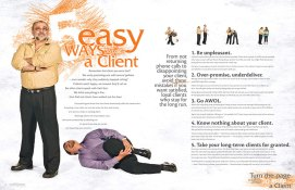 Client Connection, September 2008, feature spread