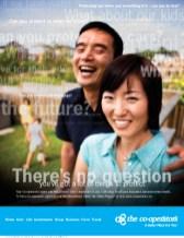 Co-operators, print ad – family