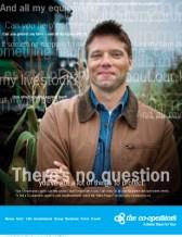 Co-operators, print ad – farm