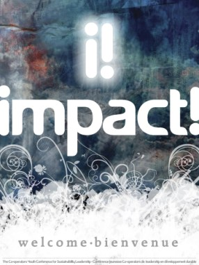 impact! Conference - welcome poster