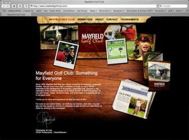 Mayfield Golf Club, website (2009)