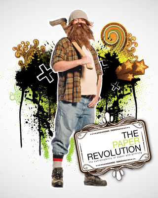 The Paper Revolution, cover (first printing)