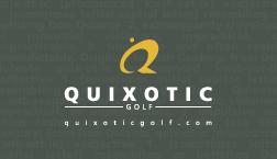 Quixotic Golf, business card (back side)