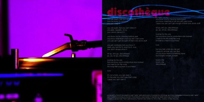 U2 - Pop, booklet spread (personal work)