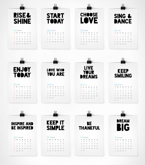 Day 9: DIY Clipboard and Calendar Gift Idea