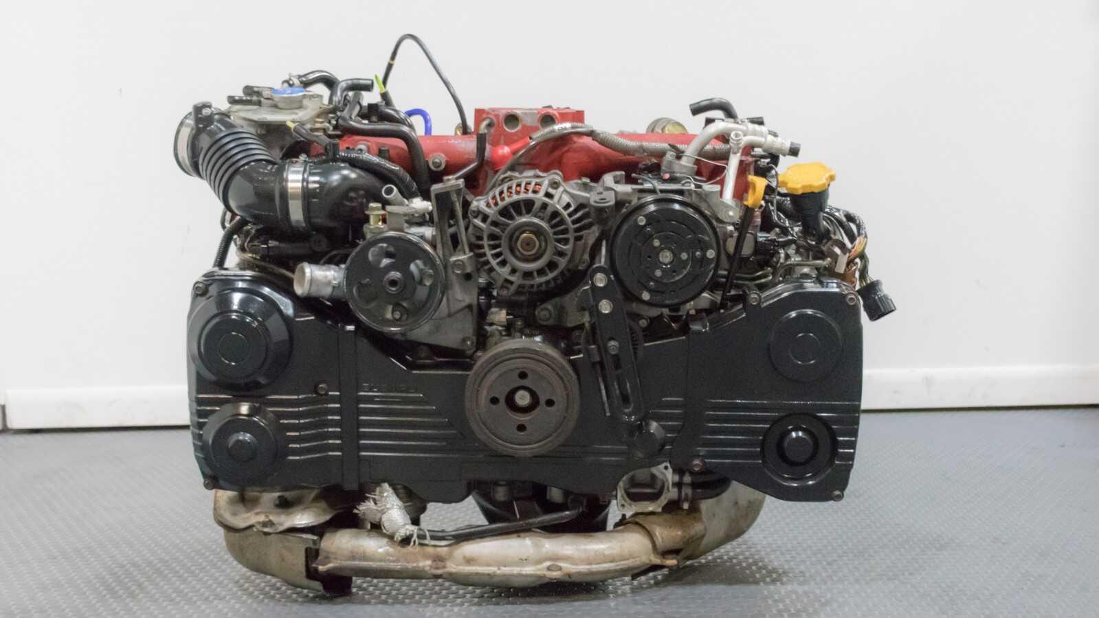 Wiring Harness Clips Used Jdm Subaru Forester Sti Ej255 2 5l 04 07 Motor Swap
