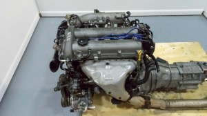 JDM Mazda Miata B6 Engine and 5 Speed Transmission 1990