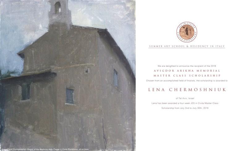 Lena Tzur - Avigdor Arikha Master Class Recipient copy.jpg