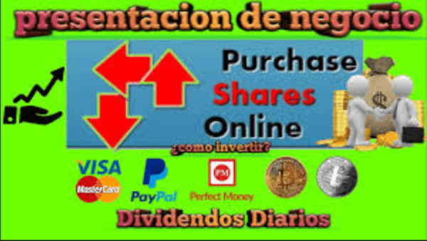 Purchase Shares Online Cómo ganar dinero