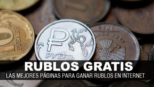 Páginas para ganar dinero con plataformas de rublos