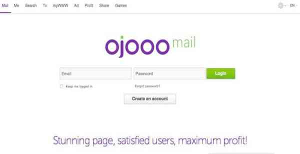 Ojooo Mail
