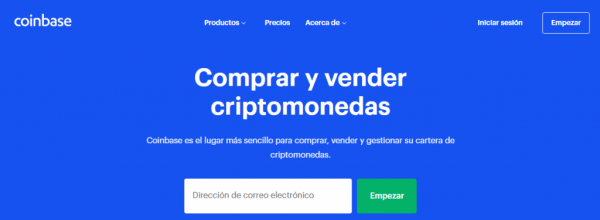 Coinbase Comprar y vender criptomonedas