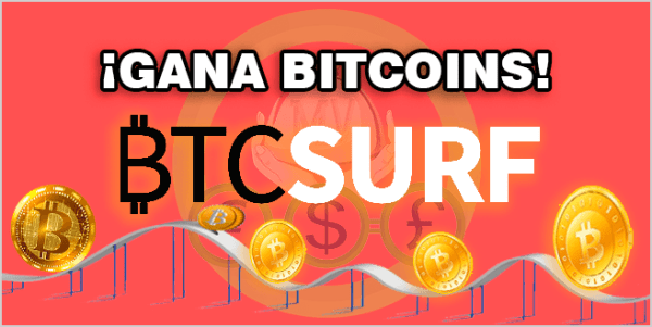 BTCSurf Ganar bitcoin