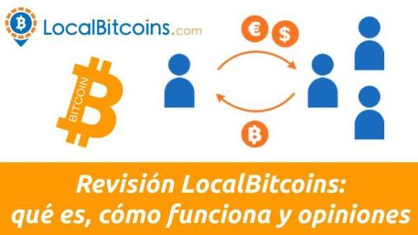 LocalBitcoins Cómo funcioona