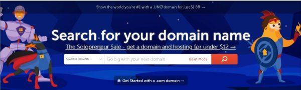 Elegir un nombre de dominio