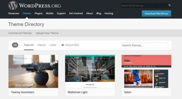 WordPressOrg Plantilla