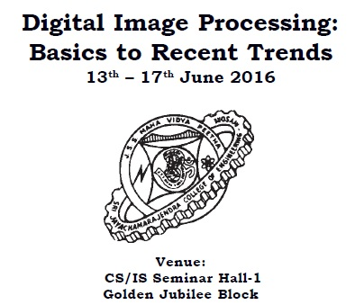 Workshop on Digital Image Processing