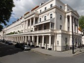 These beautiful buildings once belonged to wealthy Londoners. Many have now been sold or rented as offices to foreign governments as embassies.