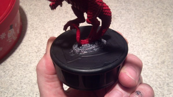 Basing Experiment for the Dragon. Click to Enlarge.
