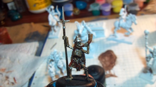 Ral Partha miniature skeleton. Click to Enlarge.