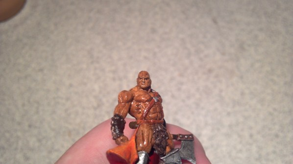 After gloss coating, this hand painted RPG miniature is finished! Click to Enlarge.