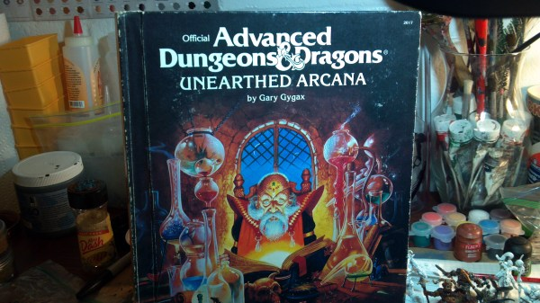 Unearthed Arcana First Edition Cavalier - Year of Clean Water