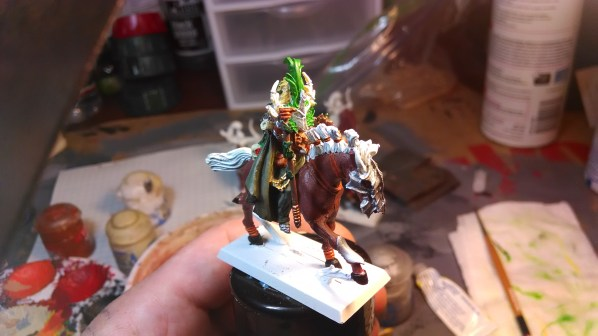 Mounted Druid WIP. Nearly complete. Click to Enlarge.