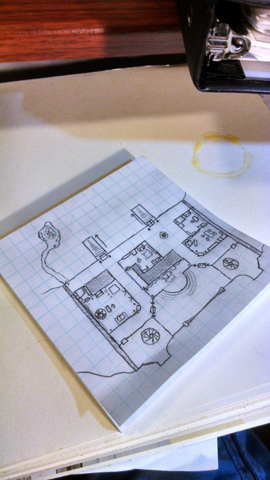 A quick dungeon tile I sketched out for this post. Click to Enlarge.