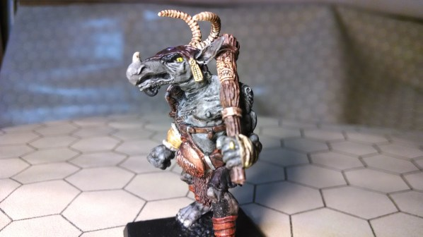 Orcus! Hand painted miniature, complete. Click to Enlarge.