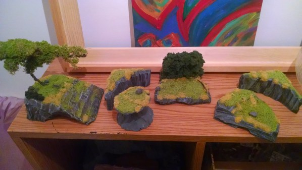 Collection of our Latest Terrain Pieces. Click to Enlarge.