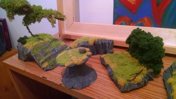 Wargame and Fantasy Role Playing Game Terrain. Click to Enlarge.
