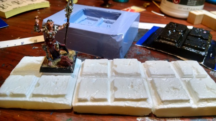 New Dungeon Tiles Lined Up. Click to Enlarge.