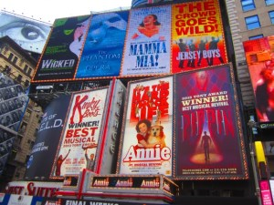 Theatre Adverts West End