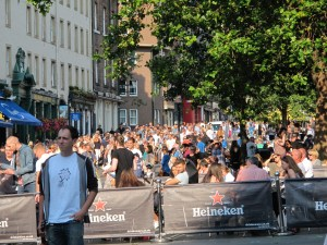 market place / Edinburgh Festival