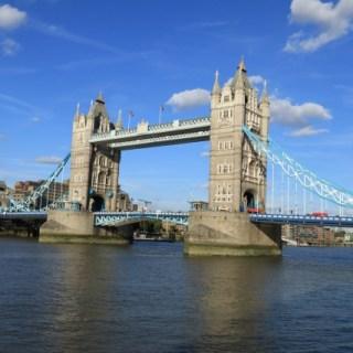 London bridge on the Thames