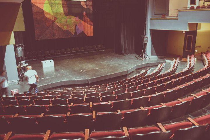 Auditorium in theatre