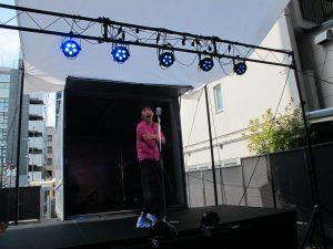 "Keizo Nagashima acts a solo performance ""Tokimeki Labyrinth"""