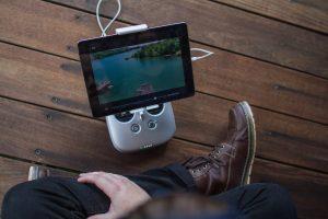 Watching video