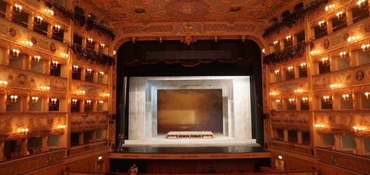 Auditorium and empty stage