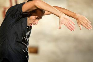 """Israel Galvan in his solo piece """"solo"""" 2"""