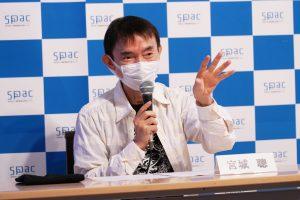 Satoshi Miyagi took the platform at SPAC's press conference