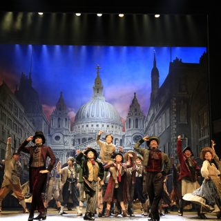 """Stage photo of the musical """"Oliver!"""""""
