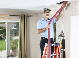 How are air ducts cleaned?