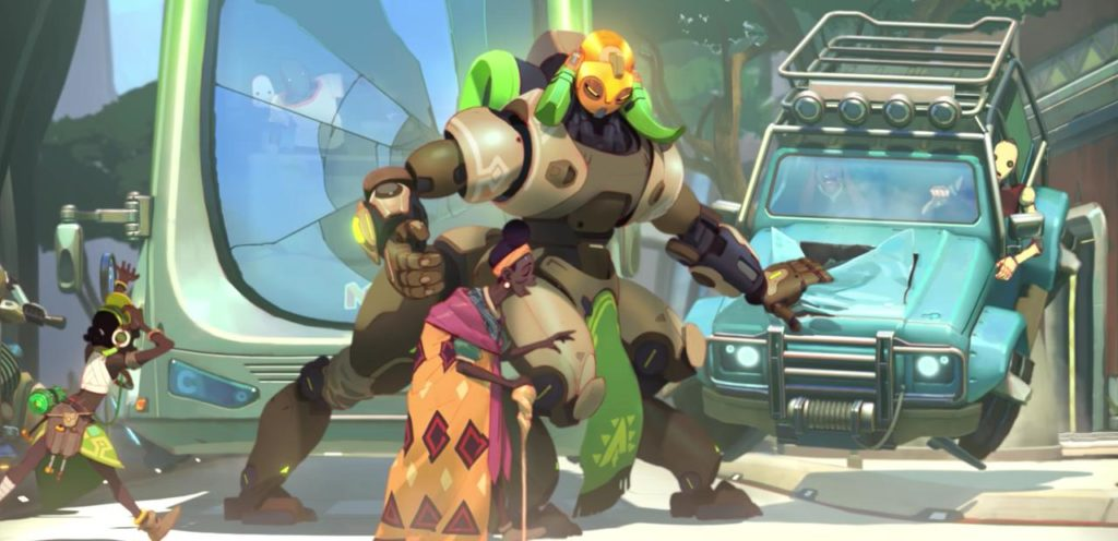 Image result for Overwatch orisa