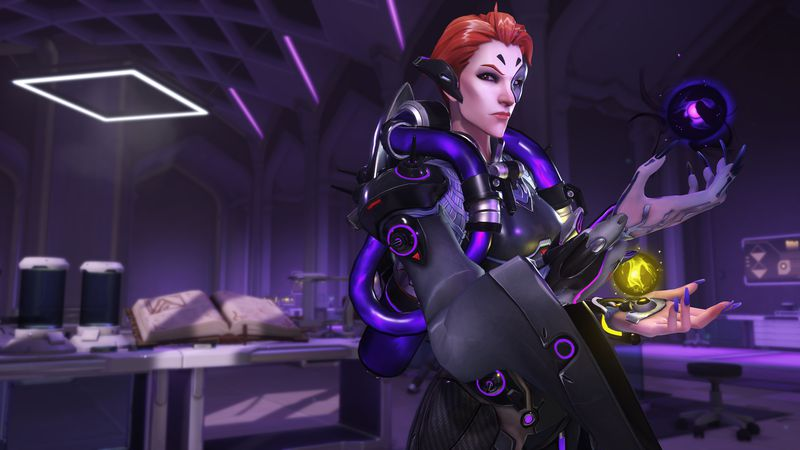 Overwatch Female Character Moira Revealed At BlizzCon