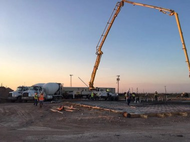 JST Concrete Commercial Contractor Lubbock