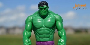 toy figure image of hulk - content marketing for start ups
