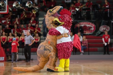 The Jacksonville State men's basketball team was not able to be the first league opponent to take down first-place Belmont Thursday at Pete Mathews Coliseum, falling 66-53.