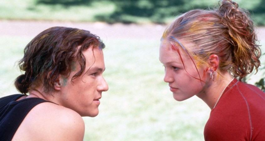 """10 Things I Hate About You"" is a 1999 romantic comedy film directed by Gil Junger and stars Julia Stiles, Heath Ledger, Joseph Gordon-Levitt and Larisa Oleynik. (Courtesy of Hollywood Reporter)"